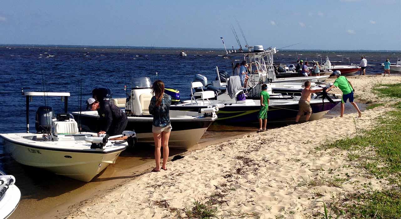 piranha boatworks fishing day