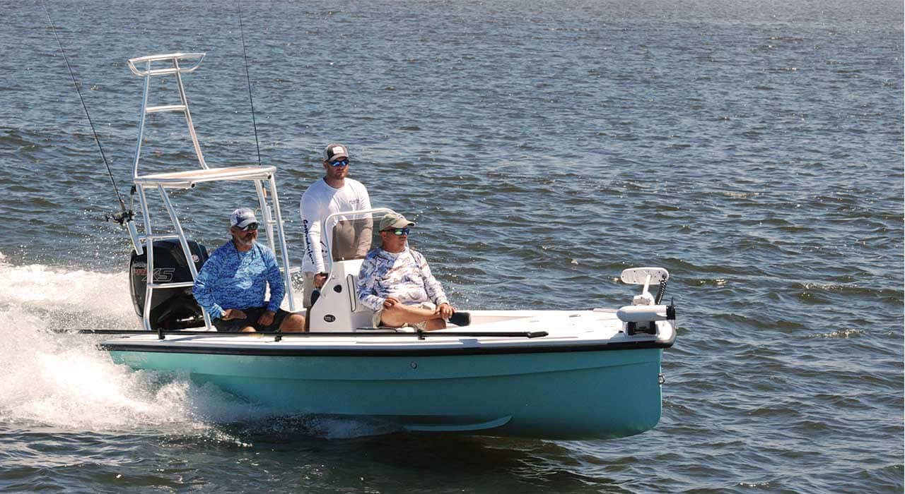 piranha boatworks fishing day